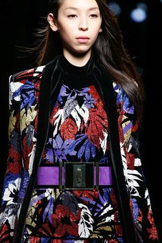 Balmain Fall 2015 Ready-to-Wear Fashion Show Details