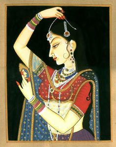 If I talk about myself then I will definitely say that I love Mughal paintings . These Mughal paintings flourished during the reigns of Akb. Mughal Paintings, Indian Art Paintings, Madhubani Painting, Colorful Paintings, Kalamkari Painting, Canvas Paintings, Beautiful Paintings, Rajasthani Miniature Paintings, Rajasthani Painting