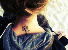 20 LINDAS Tatuagens de Árvores Masculinas e Femininas