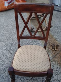 Dining Chair before