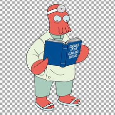 A series of fantastic Matt Groening's characters cut out to download and use inside your projects