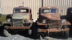 BangShift.com Power Wagons And M37 Trucks For Sale! We Love Us A Good Power Wagon! - BangShift.com Cool Trucks, Big Trucks, Fire Trucks For Sale, Jeep Wrangler Seat Covers, Power Wagon For Sale, Old Dodge Trucks, Cool Old Cars, Dodge Power Wagon, Abandoned Cars