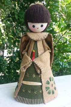 Jute, Christmas tree toppers and 1970s on Pinterest