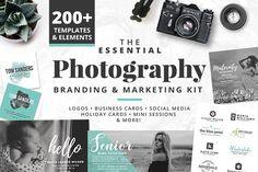 Photography Branding & Marketing Kit by Brandi Lea Designs on @creativemarket