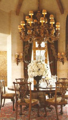 Formal Dining Room...want this room....
