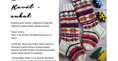 LastenKevätSukat.pdf Pdf, Socks, Sock, Stockings, Ankle Socks, Hosiery