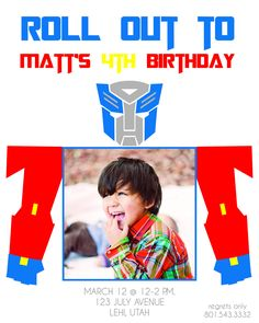 14 Best Party Inspiration Transformer Party Thomas 4th