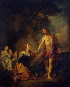 Charles de La Fosse - Christ Appearing to Mary Magdalene Noli me tangere