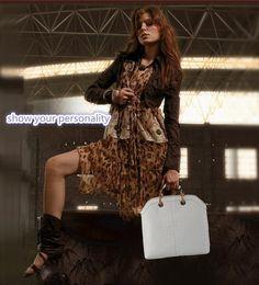 2014 new style alligator grain women handbag brand and fashion women bag one shoulder women leather bag women messenger bag - Fashionaudience.com