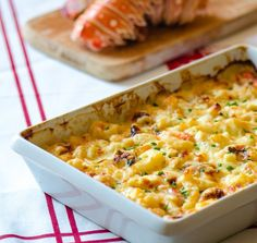 Lobster Mac & Cheese #recipe via Many Kitchens http://www.yummly.com/recipe/Lobster-Mac-and-Cheese-1724917