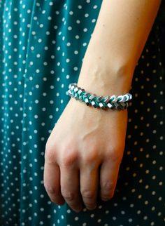 DIY hex nut bracelet - Paperikaupan tyttö - Blogi | Lily.fi  My new bracelet.<3