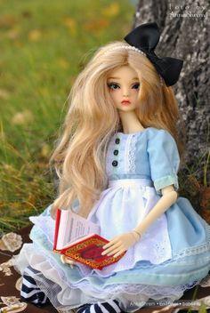 """По мотивам сказки """"Алиса в стране чудес"""", часть 1 / BJD - шарнирные куклы БЖД / Бэйбики. Куклы фото. Одежда для кукол"""