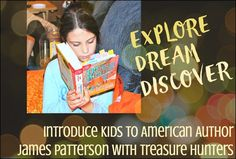 Introduce your kids to James Patterson with Treasure Hunters. They aren't old enough to read his New York Best Sellers centered around Alex Cross, YET! However, you're never too young to read amazing books from one New York Times Best Seller authors!  via @novsunflower [ad] #TreasureHunters