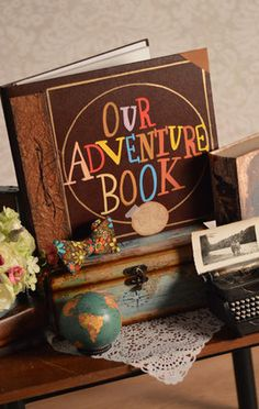 UP Adventure Book Wedding Album | 25 Whimsical Wedding Ideas For Disney-Obsessed Couples