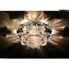 Modern 10cm 3W Crystal LED Ceiling lights chandeliers  H1041-Coloful light