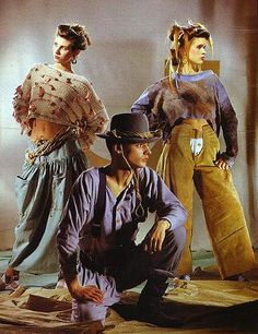 P.X. clothing in I.D. 1983 - 80's farm style/post apocalyptic
