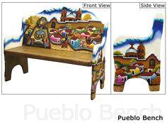 Pueblo Bench