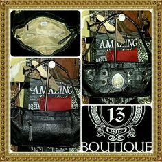 🦄FINAL PRICE🦄 GENNA DE ROSSI metal grommet PURSE AWESOME & AUTH designer GENNA DE ROSSI purse..its SMALL/MEDIUM sized just PURR-FECT for all your daily basics.. the only detail to report is a tiny amount of light scratches/wear to the metal medallion  logo(but it's very minor). ABSOLUTELY EVERYTHING ELSE in EXCELLENT CLEAN pre-luved condition genna de rossi Bags