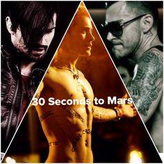 30 Seconds to Mars #jaredleto #shannonleto #echelon