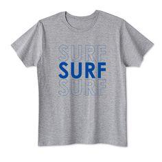 「SURFxSURFxSURFサーフィンシンプルロゴTシャツ/サーフィン,サーフボード,SURF,Tシャツ,ロンT,パーカー,スウェット」デザインの4.1oz Basic Tshirts (DALUC)です。3点以上で送料無料。関連タグ「スポーツ,surf,サーフィン,ハワイ,文字,メッセージ,サーフ,タイポグラフィ,スポーティー」デザイン説明:SURF文字の色反転タイポグラフィ。大人なシンプルデザインに仕上げました。 スポーティスタイルにぴったりのSURF(サーフ)プリントTシャツ☆パンツコーデはもちろんレディーならスカートに合わせてガーリーに着こなすのもおすすめ♪ | Tシャツトリニティは多種多様なデザイナーが出店するデザインTシャツ通販専門モールです。
