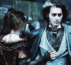 Sweeney Todd - Mrs Lovett and Benjamin Barker - Helena Bonham Carter and Johnny Depp - Tim Burton