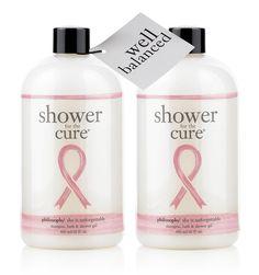 well balanced kit ® | charity shower gels | philosophy