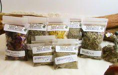 Choose 10 herb packs 2x3 bags-wiccan herbs, wiccan spells, altar tools, wicca,