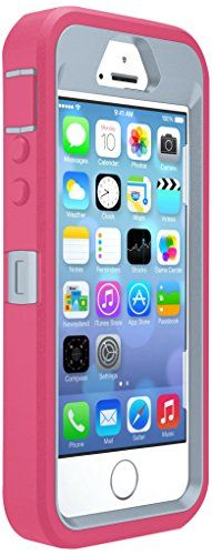 OtterBox DEFENDER SERIES Case for iPhone 55sSE  Retail Packaging  WILD ORCHID POWDER GREYBLAZE PINK ** See this great product.