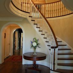 House interior on pinterest little girl bedrooms for Round staircase designs interior