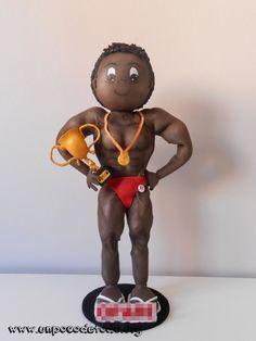 www.unpocodetodo.org - Fofucho culturista - Fofuchas - Goma eva - bodybuilder - crafts - culturista - deportes - fofuchas - manualidades - sports - 2