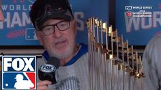 Chicago Cubs World Series trophy presentation | 2016 WORLD SERIES ON FOX