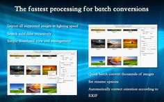 「BatchProcessing」無料セール中! ー 画像ファイルフォーマット一括変換アプリ