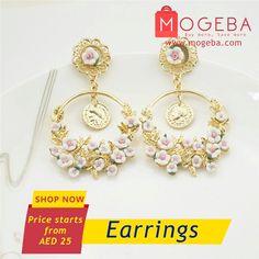 Earrings #mogeba #mogebashopping #onlineshopping #uae #dubai