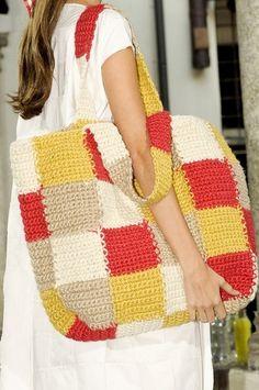 Crichet Bag Inspiration ❥ 4U // hf