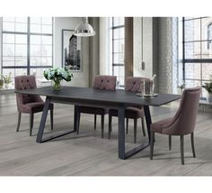 "Table pieds fer et plateau céramique ""Factory"" Dining Room, Dining Table, Table Design, Furniture, Home Decor, Images, Villa, Google, Collection"