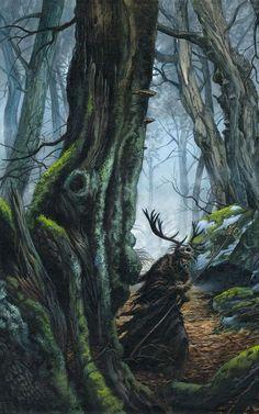 Merlin by Didier Graffet