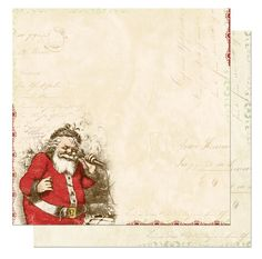graphics+45+christmas+scrapbook+paper | Vintage Christmas Scrapbook Paper and more!
