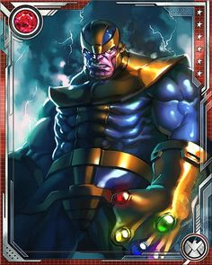 Thanos Marvel's WoH by *JimboBox on deviantART