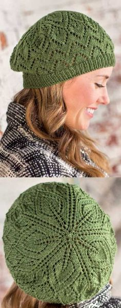 369108343a92b 15 Best knitted beret images in 2016 | Knitted beret, Beautiful ...
