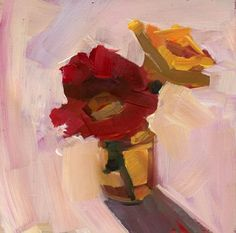 1224 A little space, painting by artist Lisa Daria Kennedy