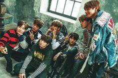 BTS X Seventeen Japanese Magazine~ ❤ #BTS #방탄소년단
