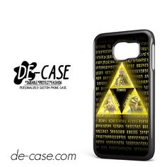 The Legend Of Zelda Triforce DEAL-10840 Samsung Phonecase Cover For Samsung Galaxy S6 / S6 Edge / S6 Edge Plus