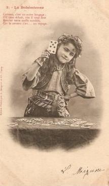 Bohémienne cartomancienne   gypsy fortune teller  the Bohemian