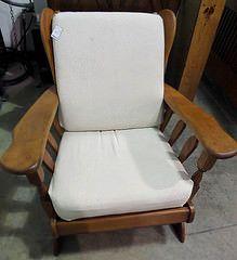 Rocking Chair Linen Fabric