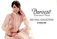 Breeze is a Pakistani top rated textile retailer who provides quality and best every time. Breeze is providing their best every season and they ranges from women ready to wear to unstitch dresses till kids wear. The brand is serving their best from 1985 and it was fixed in Lahore, Pakistan as Lahore is called the heart of fashion and food.  #pakistanclothingbrands, #fashionbrandspakistan, #dresscollection2014