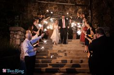 Homewood Weddings Sparklers! Two Rings Studio  Homewood, Asheville Wedding Venue-  #ashevillewedding #homewoodwedding #ashevilleweddingvenue