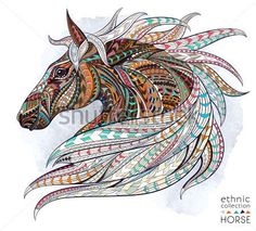 ethnic collection horse