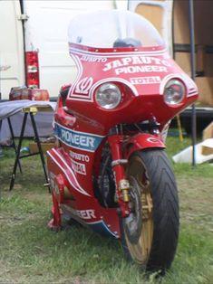RS1000 : ☆中年ライダー奮闘記☆ Old Bikes, Motorbikes, Honda, Motorcycles, Cats, Vehicles, Street Bikes, Old Motorcycles, Gatos