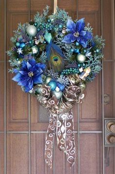 peacock wreath <3