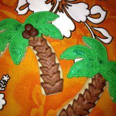 Palm Tree Cookies